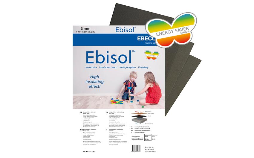 Izolacijske talne plošče Ebeco Ebisol