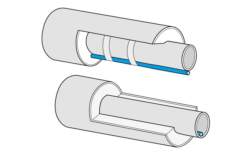 Zaščita vodovodnih in kanalizacijskih cevi pred zmrzaljo